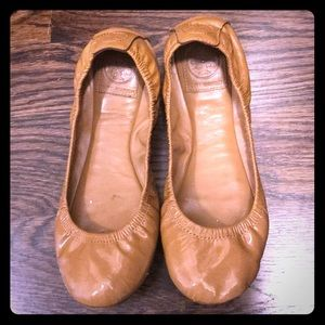 Tory Burch ballet flats leather size 7.5